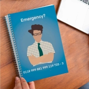 Caderno Emergency Moss The It Crowd
