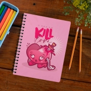Caderno Kill This Love Ilustrador Victor Beck