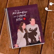 Caderno Lilypad e Marshmallow