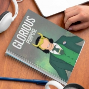 Caderno Loki