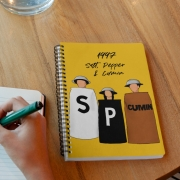 Caderno Salt Pepper And Cumin HIMYM