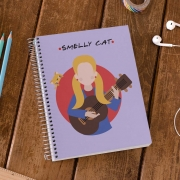 Caderno Smelly Cat Phoebe