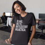 Camiseta Bears Beets Battlestar Galactica