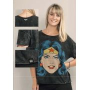 Camiseta Feminina Wonder Woman DC OFicial