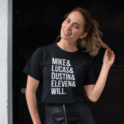 Camiseta Mike Lucas Dustion Eleven Will