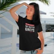 Camiseta On Thursdays we watch Greys
