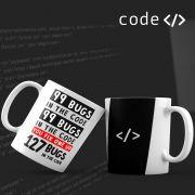 Caneca Erros Debug Programador