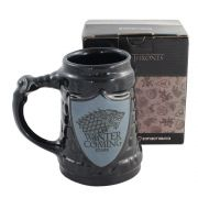 Caneca Escudo Game Of Thrones Stark Oficial