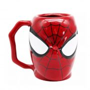 Caneca Formato 3D Spider Man Marvel 400ml
