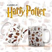 Caneca Harry Potter Elementos