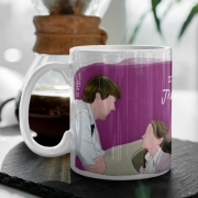 Caneca Jim Loves Pam The Office