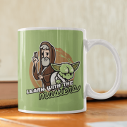 Caneca learn with the masters