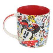 Caneca Minnie Porcelana Oficial Disney 320ml