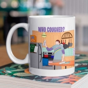 Caneca Who Coughed