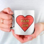 Caneca Pam Loves Jim