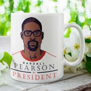 Caneca Pearson For President