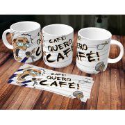 Caneca Quero Café Meme