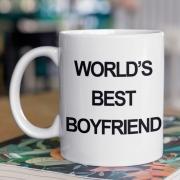 Caneca World's Best Boyfriend