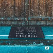 Capacho Game of Thrones Hold the Door Vinil