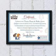 Certificado Médica Universidade Greys Anatomy UGA  Personalizado