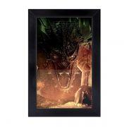 Cofre de Parede Dragão Smaug o Hobbit