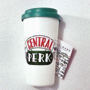 Copo Plástico Friends Central Perk 500ml