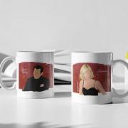 Kit 2 Canecas - Clive e Juliana - Modern Family