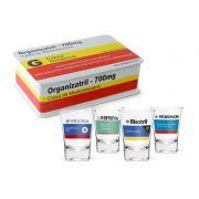 Kit 4 Copos Shot Aperitivo + Caixa Presenteavel de Medicamentos