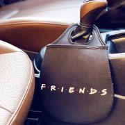 Lixeira Para Carro Friends