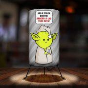 Luminária DrPepper Yoda Dormir eu Quero