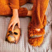 Pantufa 3D Chewbacca star Wars