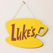 Placa Lukes Café