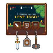 Porta Chave Game RPG Retro 8 bits
