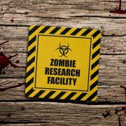 Porta Copo Ecológico Imã Zombie Research Facility
