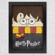 Poster com Moldura Harry Poster Harry Potter
