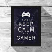 Quadro A4 Gamer Can't Keep Calm