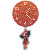 Relógio de Pêndulo Homem Aranha
