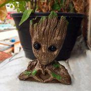 Vaso de Planta Porta Treco Baby Groot Marvel