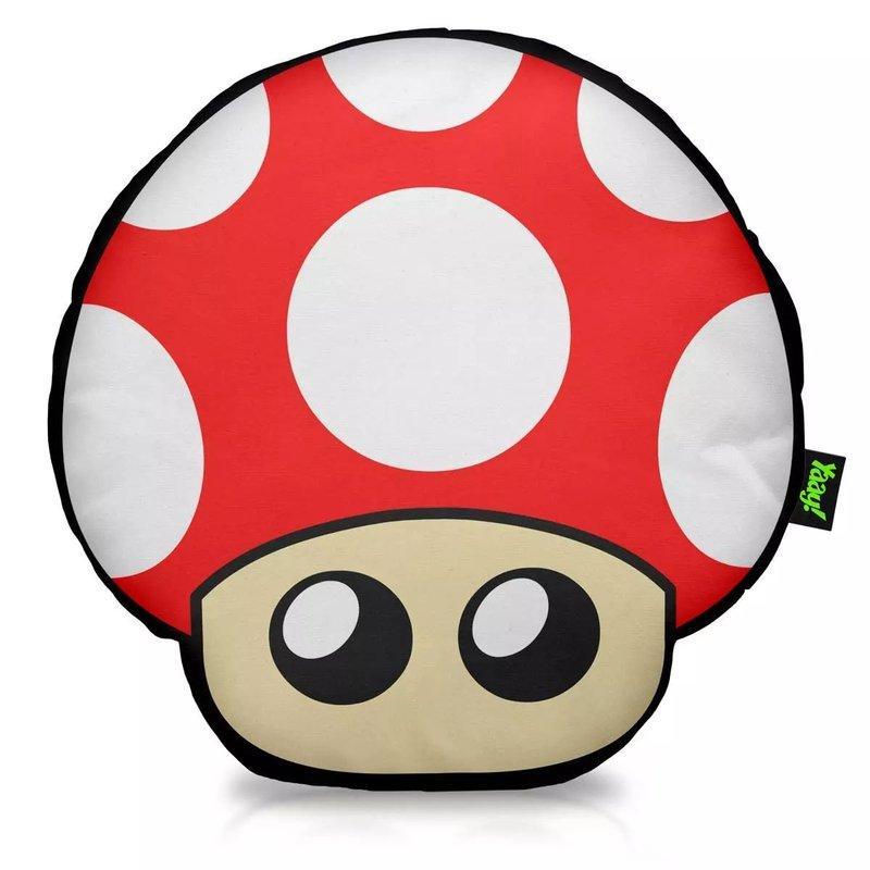 Almofada Cogumelo vermelho Super mario