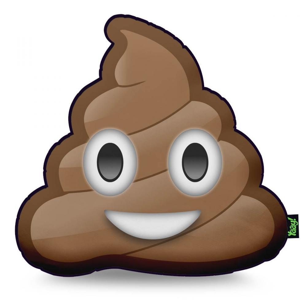 Almofada Emoji Cocozinho Poop
