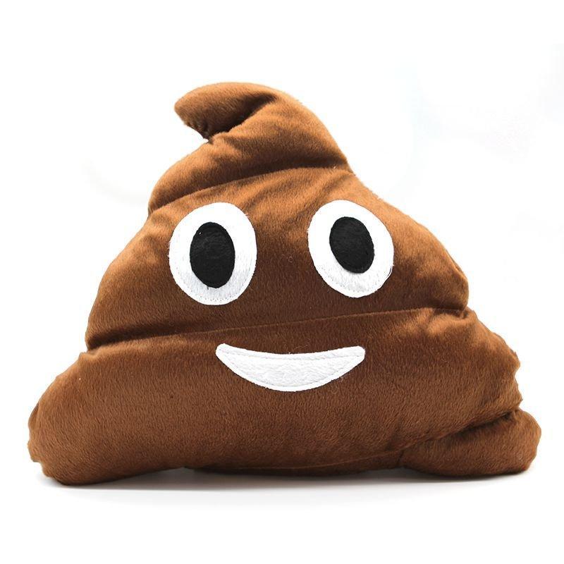 Almofada Emoticon Emoji Cocozinho Poop