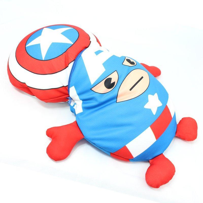 Almofada Escudo Capitão América 2 em 1