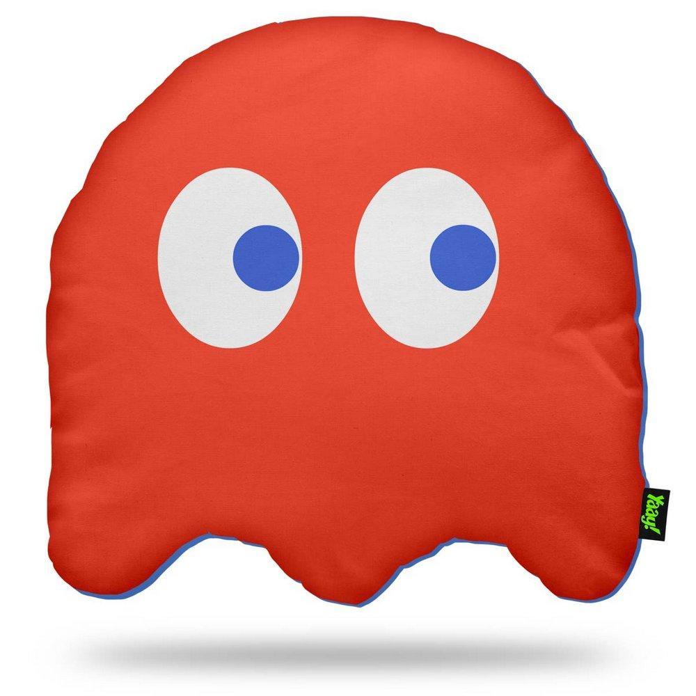 Almofada Fantasminha Pac Man Vermelha
