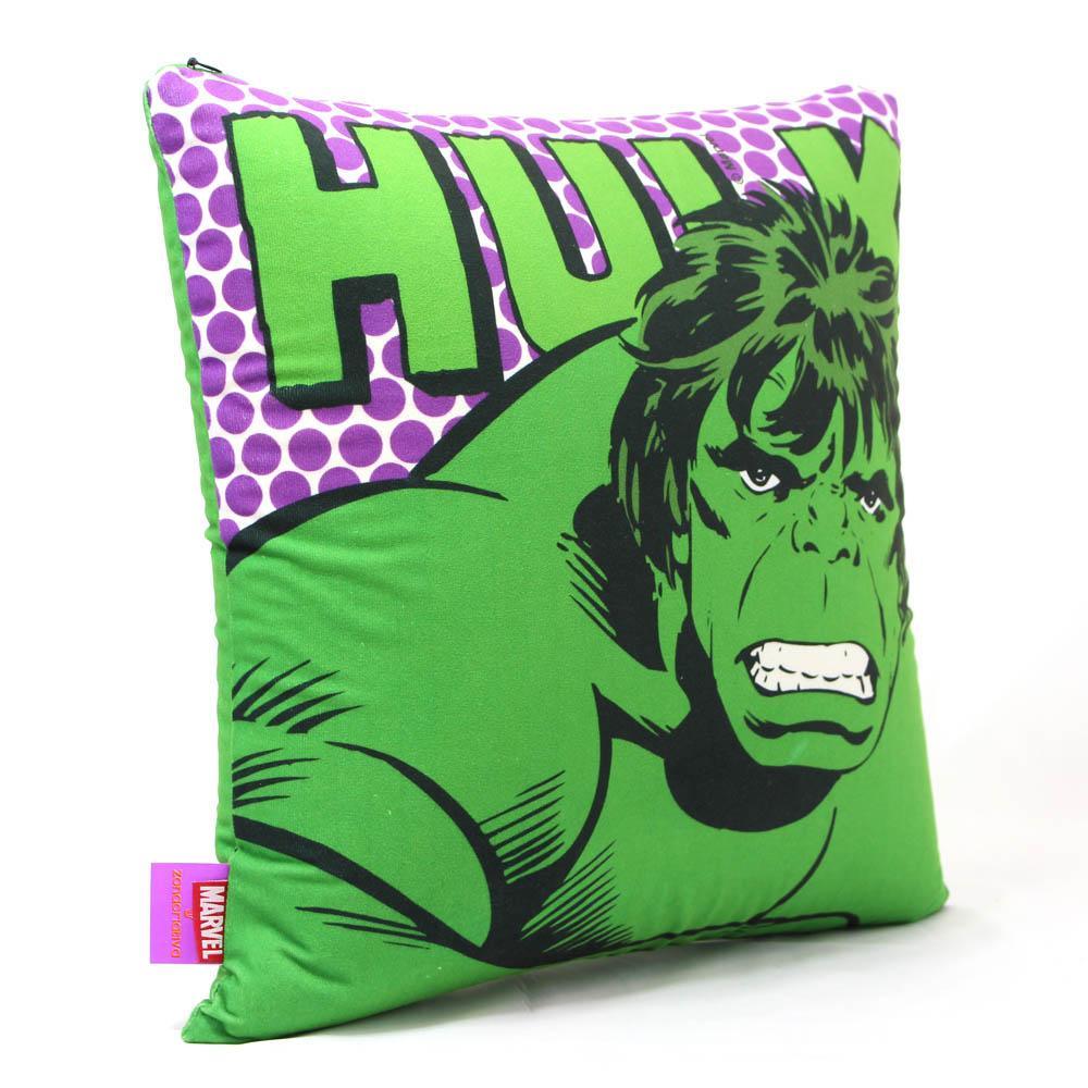 Almofada Incrível Hulk Oficial Marvel 40x40