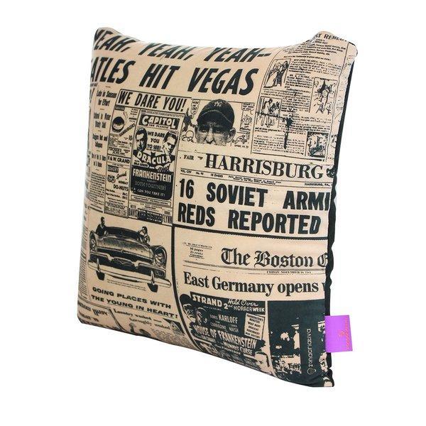 Almofada jornal 40x40
