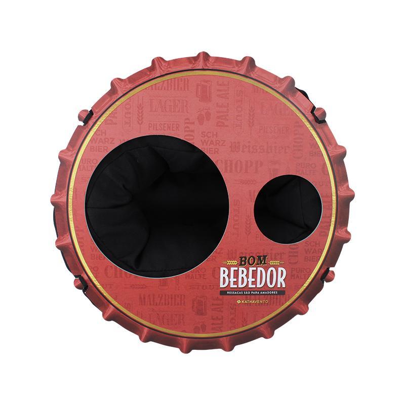 Almofada Porta Cerveja Bom Bededor