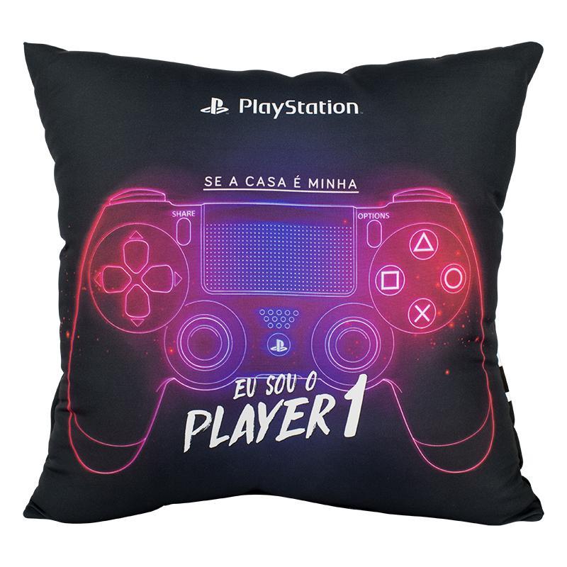 Almofada Porta Controle de Videogame Oficial Playstation