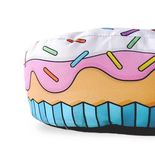 Almofada Porta Pipoca Cupcake