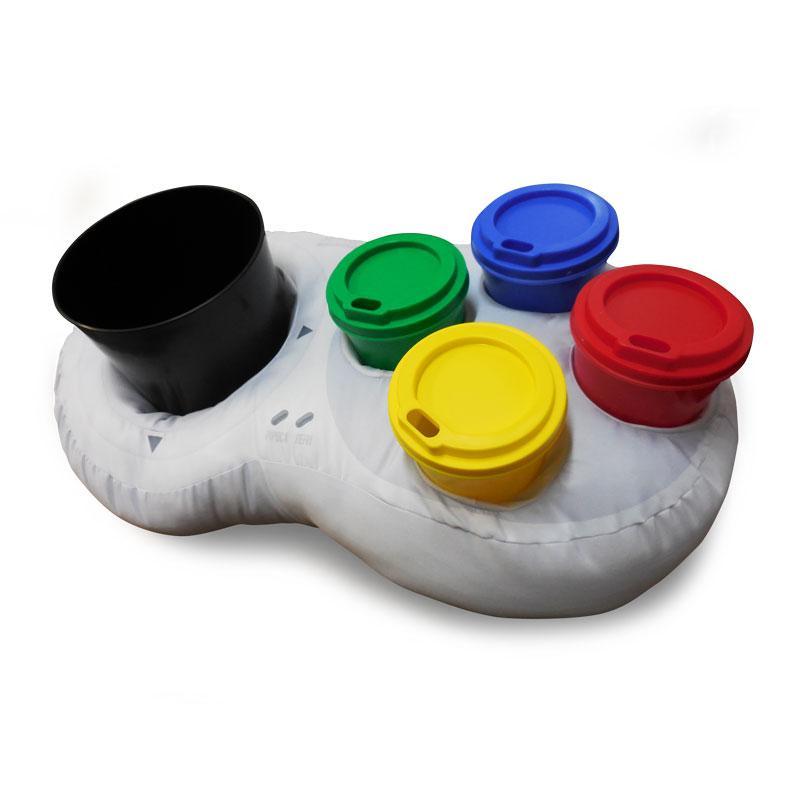 Almofada Porta Pipoca Joystick Super Nintendo Família