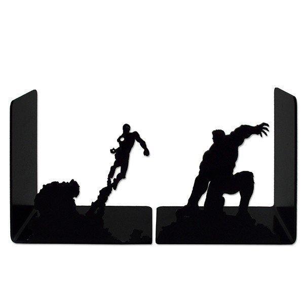 Aparador Porta Livro Dvd, Cd Hulk Homem de Ferro